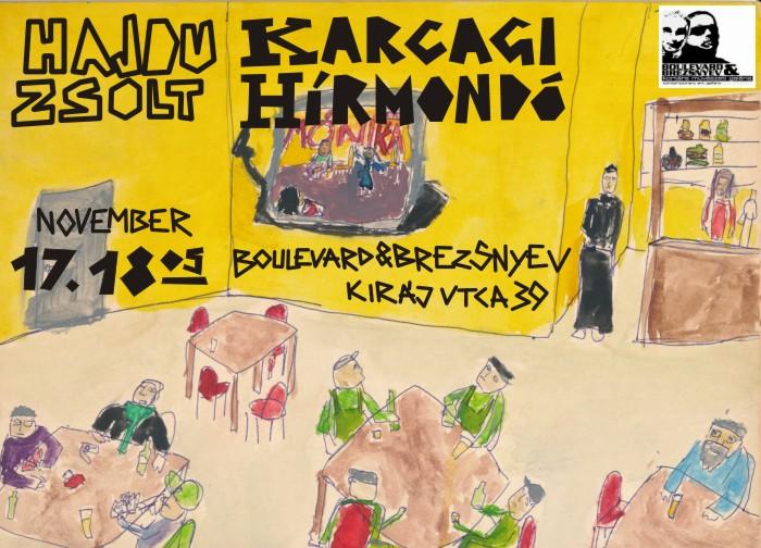 2011.11.17.18h.: Hajdu Zsolt – Karcagi hírmondó című önálló kiállítása